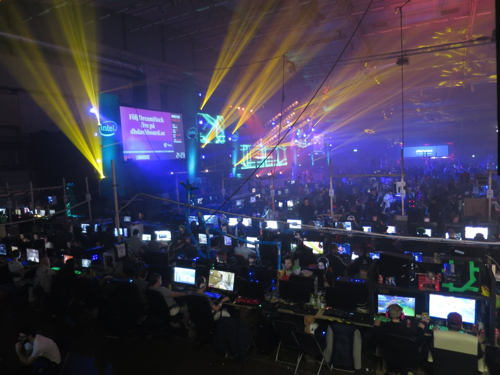 Dreamhack winter 2015 Hall D