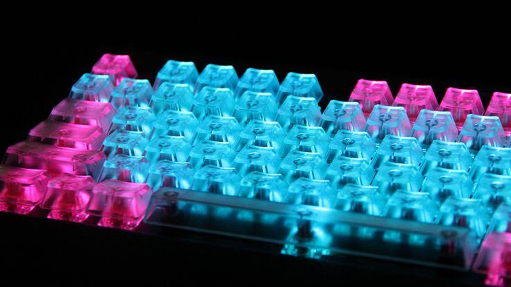 Translucent key