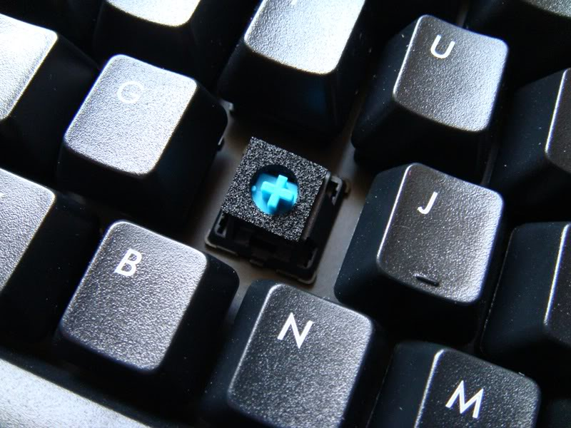 Dampen keyboard noise