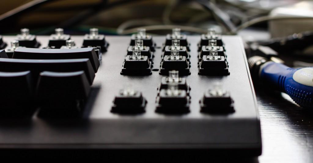Flaretech switch keyboard