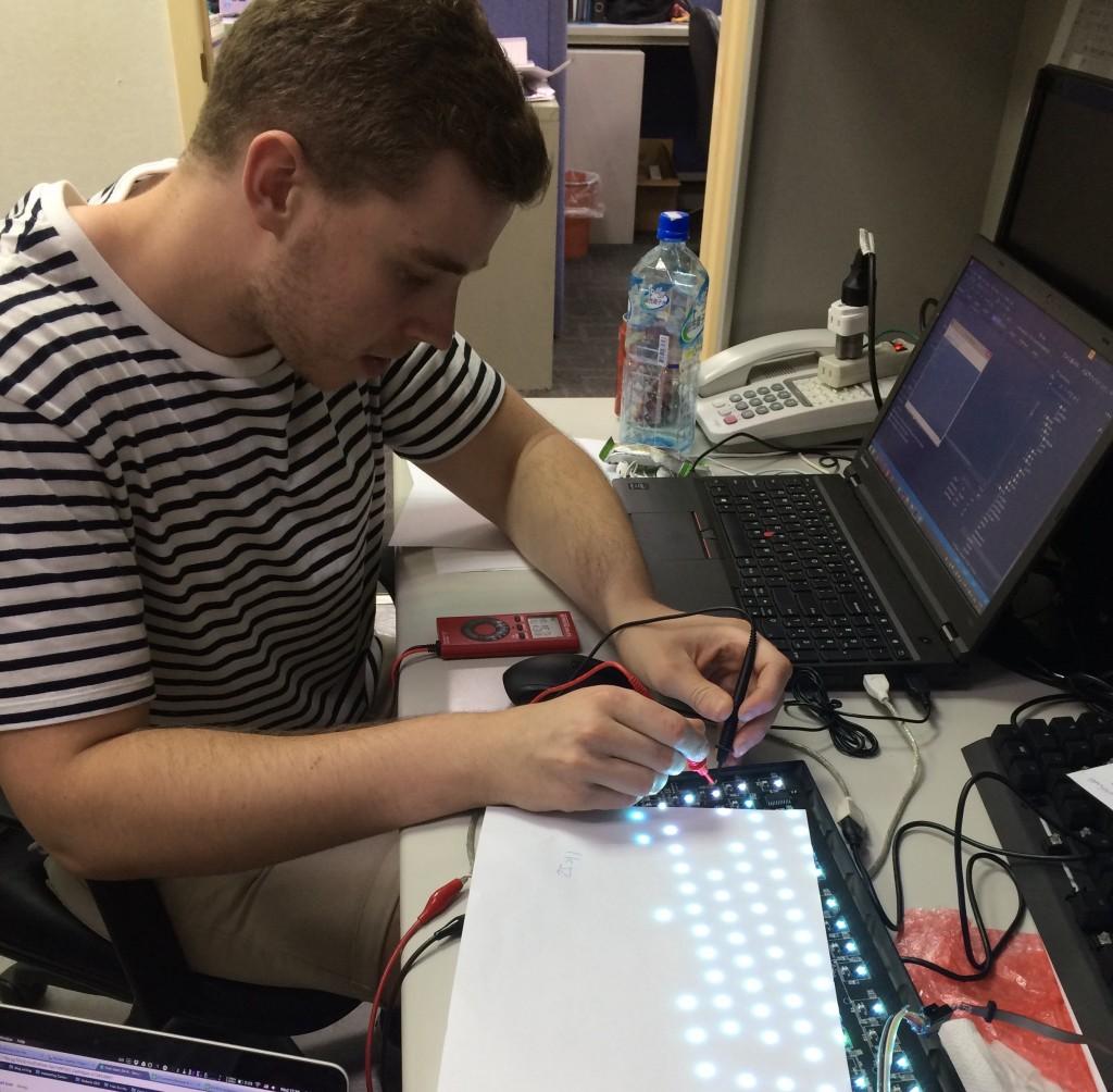 Jeroen soldering