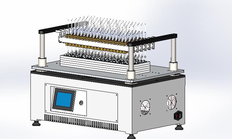 Analog test machine